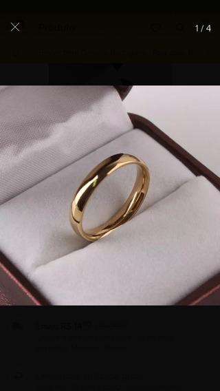 Unidade Aliança Noivado E Casamento B Ouro 18 K Atacado