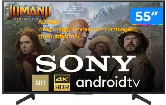 Smart Tv 4k Led 55 Sony Xbr-55x805g Android Wi-fi - Hdr