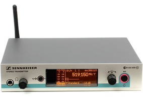 Sistema Sem Fio Sennheiser Ew300iem Com Earphone In Ear