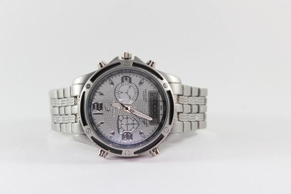Relógio Masculino Pontenzia | Quartz Digital E Analógico