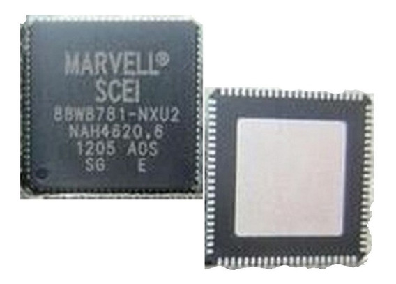 Chip Controlador Wifi /bt Marvell 88w8781-nxu2 Ps3 Ultra