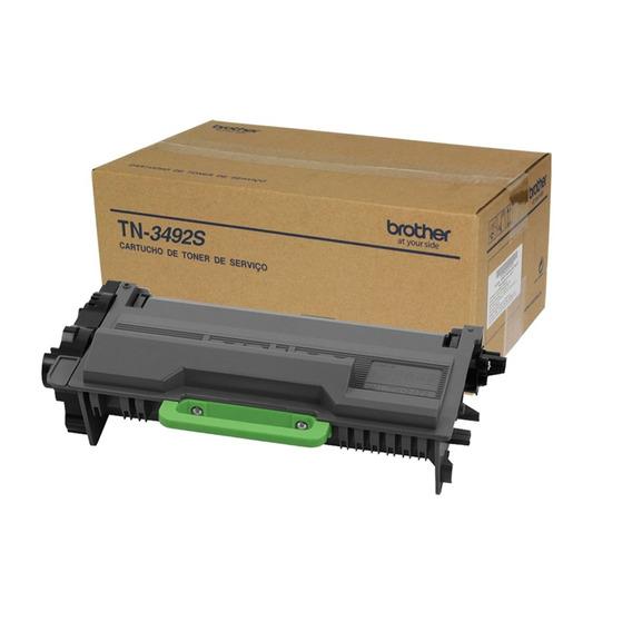 Kit 8x Toner Brother Tn 3492 Mfc-l6902 Hl-l6402 Orig Vazio