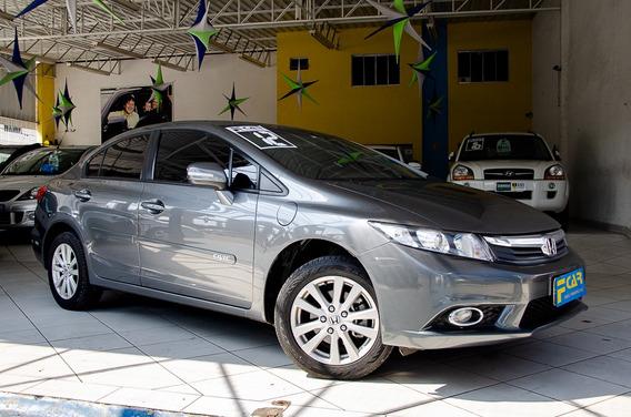 Honda Civic Lxs 1.8 Flex 2012 Automatico,periciado,novo!