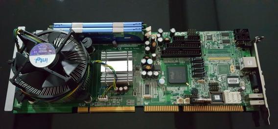 Industrial Placa Axiomtek Sbc81203 Core 2 Duo 2gb