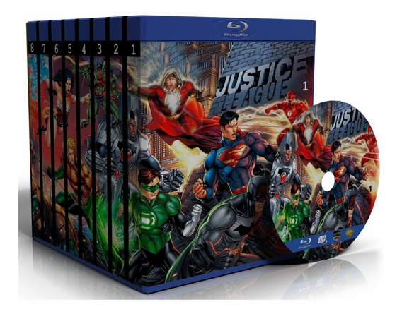Blu-ray Dc Comics Collection - Todas As Animações