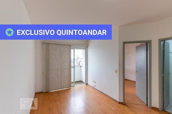 Apartamento No 14º Andar Com 1 Dormitório E 1 Garagem - Id: 892959922 - 259922