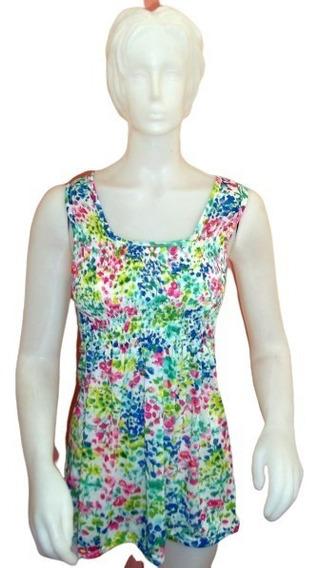 Vestido Camisola Vestidito Remera Musculosa Algodón S/m