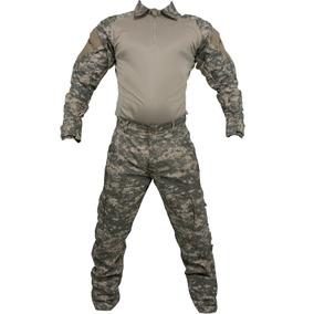 Farda Tática Airsoft Calça Cargo Combat Shirt Reforçada