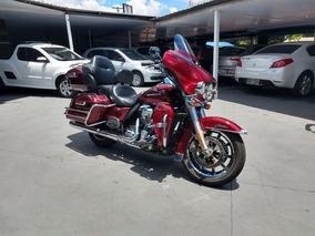 Harley Davidson Electra Glide Flhtk 2017 Vermelha Gasolina