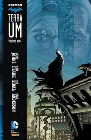 Batman: Terra Um Vol. 2 Novo Lacrado Publicação Panini