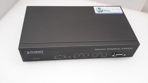 Internet Telephony Gateway Planet Vip-410