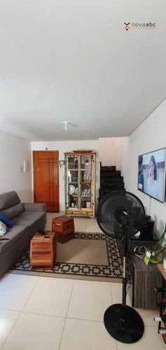 Cobertura Com 2 Dormitórios À Venda, 55 M² Por R$ 360.000 - Vila Francisco Matarazzo - Santo André/sp - Co1151