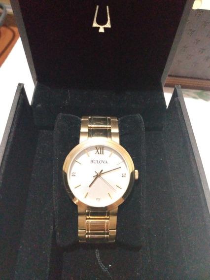 Relógio Bulova Dourado Feminino