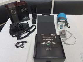 Câmera Olympus Om-d Em-10 Mark Ii - Semi Nova + Nota Fiscal