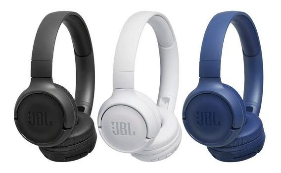 Fone Jbl T500bt Bluetooth T500 Bt Garantia 1 Ano Jbl +brinde