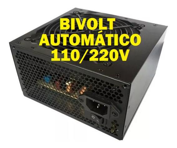 Fonte Bluecase 350w Real Pfc Bivolt Automatico Silenciosa Fr