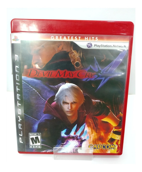 Devil May Cry 4 (seminovo) - Ps3