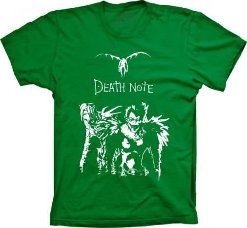 Camisa Death Note Shinigami Anime