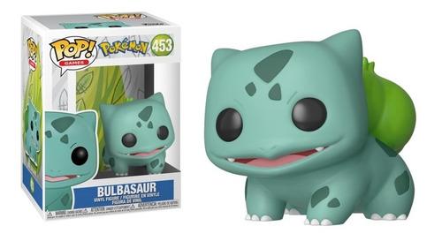 Boneco Funko Pop Games Pokémon Bulbasaur - #453