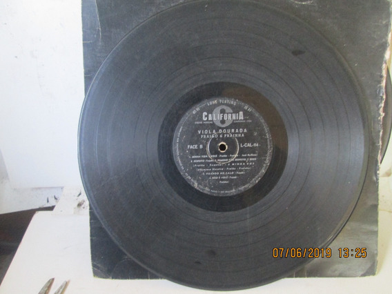 Lp Praiao E Prainha Viola Dourada L-cal-114 Ano 1964 Capa Gn