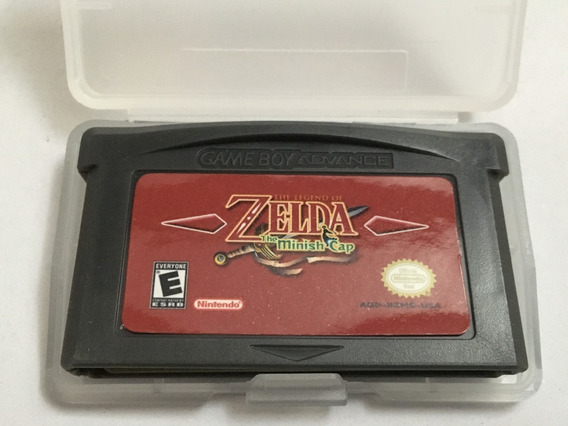 The Legend Of Zelda The Minish Cap Game Boy Advance Gba Nds