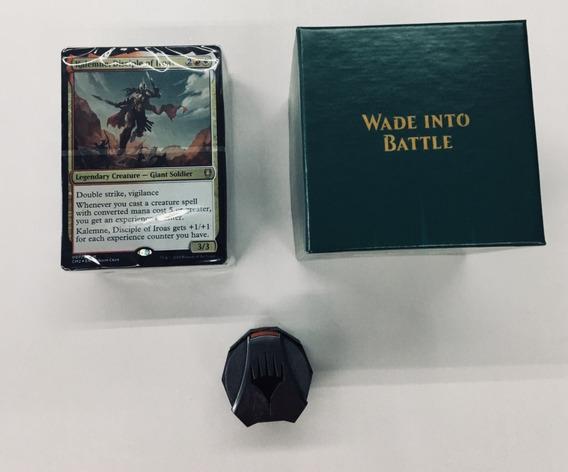 Deck: Wade Into Battle +spindown Do Commander Anthology 2