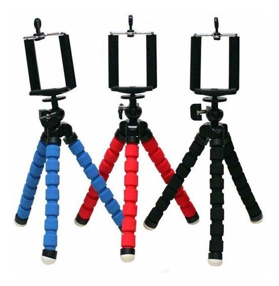 Tripé Flexível P/ Câmeras E Celular Em Geral