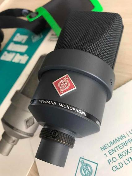 Mic Neumann Tlm 103 Matte Black Original C/shock Akg H100
