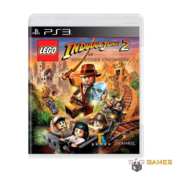 Lego Indiana Jones 2 Adventure Continue - Ps3 - Midia Fisica