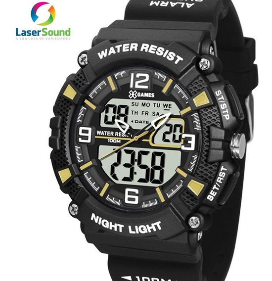 Relógio X-games Masculino Xmppa253 Bxpx C/ Garantia E Nf