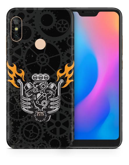 Skin V8 Engine Para Telefonos Xiaomi