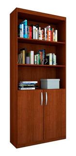 Librero Con Puertas Organizador Moderno Minimalista Sala