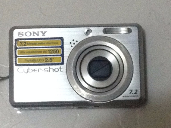 Câmera Digital Sony Cyber-shot 7.2 Megapixel