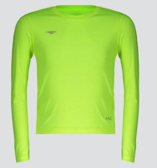 Camisa Penalty Proteção Uv Juvenil Limão 310585