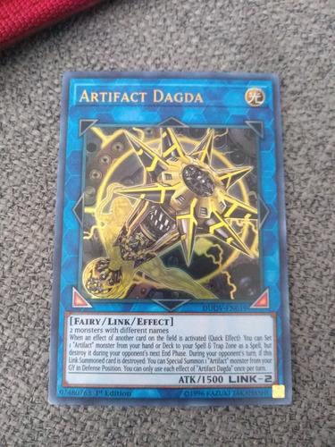 Imagen 1 de 1 de Artifact Dagda Ultra Rare Yugioh