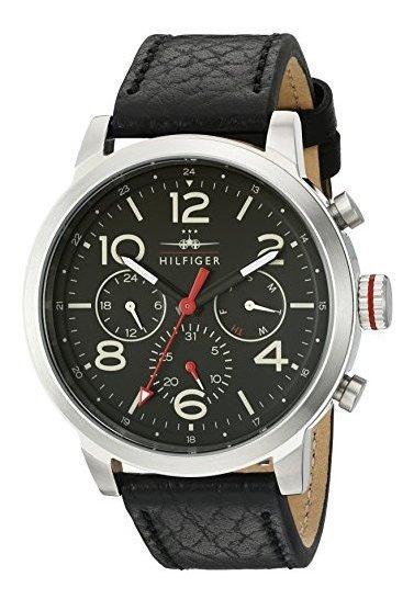 Tommy Hilfiger 1791232 Jake Reloj Negro De Cuarzo Japonés Co