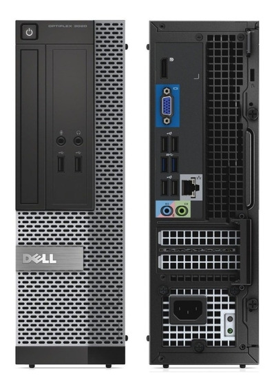 Cpu Dell Optiplex 3020 Sff I3 4gb 320 Hd + Brinde