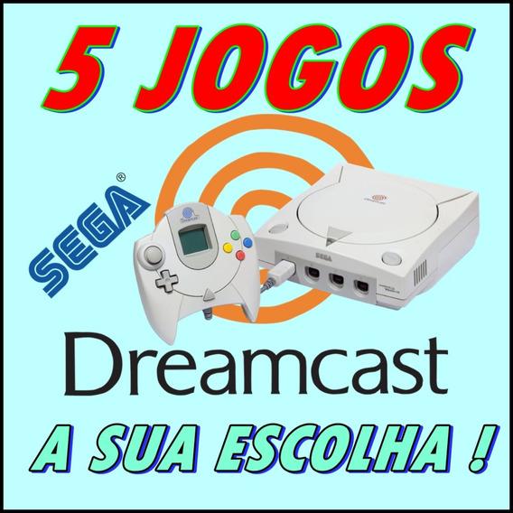 5 Jogos Patch Sega Dreamcast A Sua Escolha