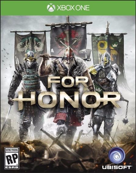 Jogo Novo Mídia Física For Honor Original Xbox One