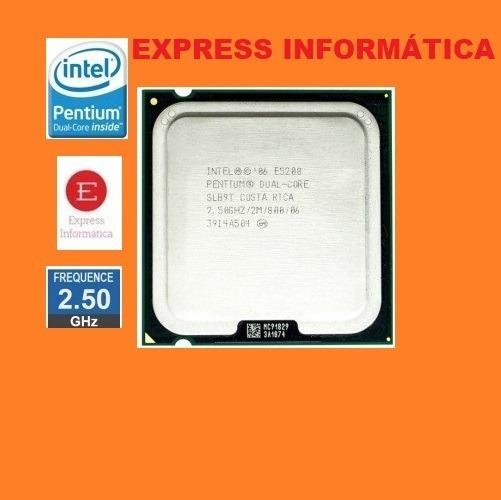 Processador Intel Pentium Dual Core E5200 2.5 Ghz Socket 775