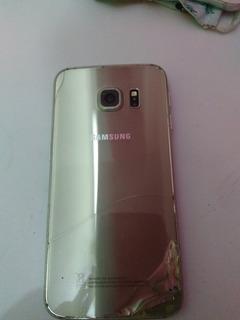 Celular Samsung S6 Edje Tela Queimada