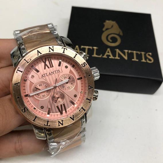 Relógio Atlantis A3310 Cores Atacado Revenda + Bateria Extra