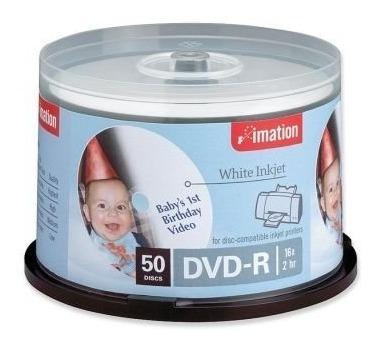 Tubo 50 Dvd-r Printables
