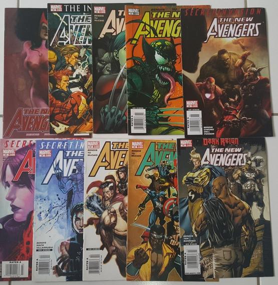 Lote Comics The New Avengers Secret Invasion - Em Inglês