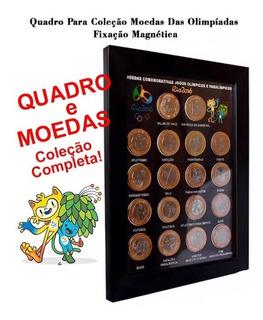 Quadro Porta Moedas Olimpíadas E + Coleção Completa