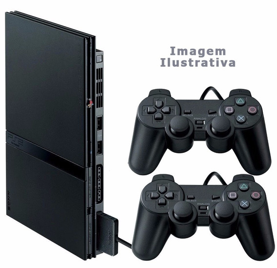 Video Game Playstation 2 Desbloqueado, 2 Controles, Ps2