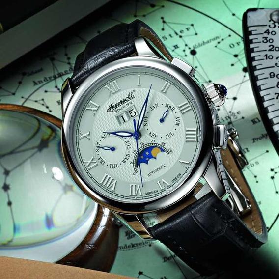 Reloj Ingersoll Moonphase Fase Lunar Real, Automático