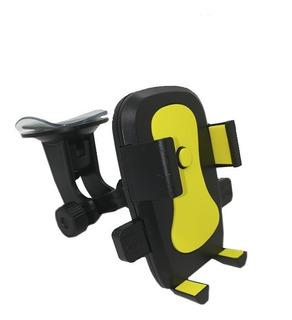 Soporte Auto Holder Brazo Codo Sopapa P/ Vidrio Celular Sa2