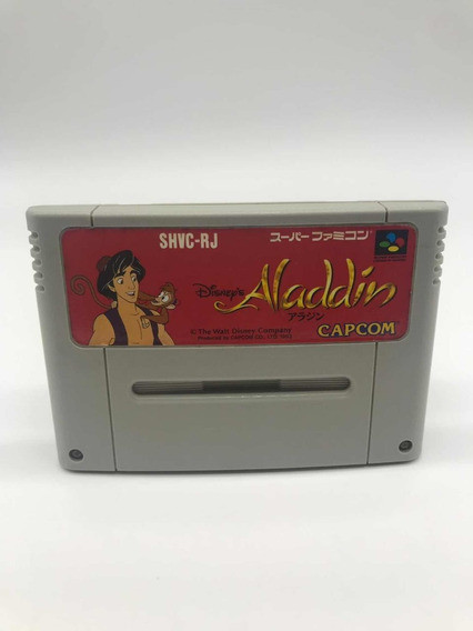 Aladdin Super Nintendo Super Famicom Original