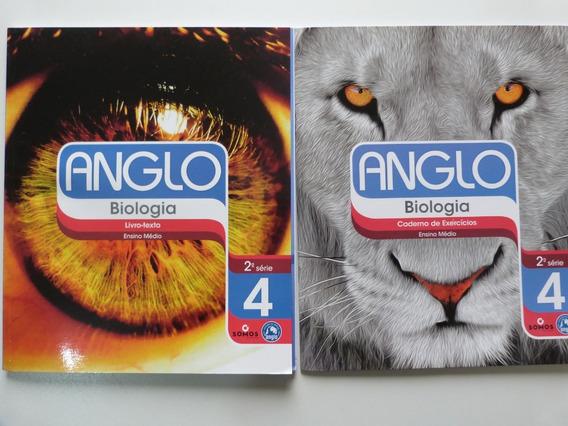 Livro: Anglo Biologia 2.ª Série 4 Livro-texto + Cad Exerc
